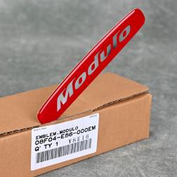 OEM emblemat Modulo 130x23 mm czerwony