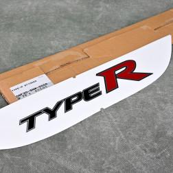 OEM emblemat naklejka TypeR Civic 8gen FD2