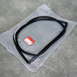 Uszczelka szyby bocznej tylnej Civic 5gen 92-95 HB lewa strona kierowcy