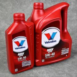 Olej silnikowy Valvoline MaxLife 5W40