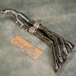 SRS kolektor wydechowy 4-2-1 FN2 K20 Civic 8gen 06-11 TypeR