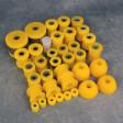 Deuter zestaw poliuretanów Prelude 4gen 92-96 żółty