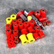 Deuter zestaw poliuretanów CRX Del Sol 93-97 czerwony
