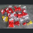 Strongflex zestaw poliuretanów Prelude 4gen 92-96 czerwony