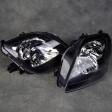 Depo lampy przednie Prelude 5gen 97-01 Black Clear