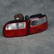 Lampy tylne SCL White-Red Civic 92-95 HB