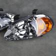 Lampy przednie CRX Del Sol Clear Amber