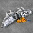 Denji lampy przednie Civic 5gen 92-95 Clear