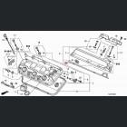 12351-R70-A00, 12351R70A00 OEM uszczelka tylnej pokrywy J35, J37 V6 Honda Odyssey, Pilot, Ridgeline