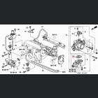 16456-P2A-003, 16456P2A003 OEM uszczelniacz silniczka krokowego