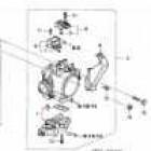16456-P8A-A01, 16456P8AA01 OEM uszczelniacz silniczka krokowego Honda Civic 7gen 01-05 TypeR EP3 K20A2