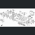 17105-P8A-A01, 17105P8AA01 OEM uszczelka pod kolektor ssący J30 Accord Coupe 6gen 98-02 3.0V6