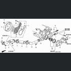 19301-PZA-305, 19301PZA305 OEM termostat Honda Civic 8gen 06-11 L13A7 1.4 i-DSI