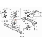 50840-SH3-000, 50840SH3000 OEM przednia poduszka silnika Honda Civic 4gen 88-91 CRX 2gen 88-91