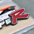 75732-S5T-E11, 75732S5TE11 OEM emblemat TypeR na grill Honda Civic 7gen EP3 04-05