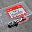 75732-SEA-Z01, 75732SEAZ01 OEM emblemat TypeS na grill Honda Accord 7gen 03-08