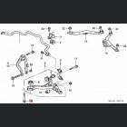 90119-SDA-A00, 90119SDAA00 OEM śruba tulei wahacza przedniego Honda Accord 7gen 03-08 K20, K24, N22