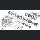 91002-RAS-003, 91002RAS003 OEM łożysko skrzyni biegów EP3, Honda Accord, Honda Civic
