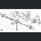 91349-P2A-003, 91349P2A003 OEM uszczelka pompy wspomagania Honda Prelude 5gen 97-01