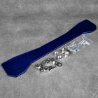 MP-ZW-016 ASR Style Subframe Brace rozpórka Civic 6gen 96-00 niebieska