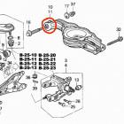 CTR CVHO-20 tuleja wahacza tylnego Honda Accord 7gen 03-08 Tourer Kombi