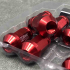 DS-NK-256 Nakrętki D1 Spec 40mm 20szt. 12x1.5 czerwone