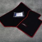 OEM Honda dywaniki czarno-czerwone Honda S2000, 08P16-S2A-643, 08P16S2A643