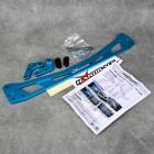 Hardrace HR8792, 8792 Subframe Brace rozpórka Honda Civic 6gen 96-00 niebieska