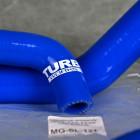 Turbo Works węże chłodnicy Honda Civic 6gen B16 B18 niebieskie MG-SL-121