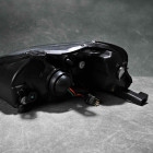 HL-CIVC99-BK-L, HLCIVC99BKL Lampy przednie Civic 6gen 99-00 Black Clear LED DRL