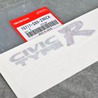 OEM emblemat naklejka Civic TypeR Honda Civic 6gen EK9 75717-S03-Z00ZA, 75717S03Z00ZA