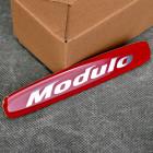 OEM emblemat Modulo 13x23 mm czerwony 08F04-E56-000EM, 08F04E56000EM