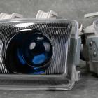 Denji DJ-HD767-BB lampy przednie Honda Civic 5gen 92-95 Black