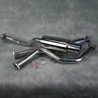 Turbo Works MG-CB-014 CatBack Honda Civic 5gen 6gen 92-00 Coupe Sedan