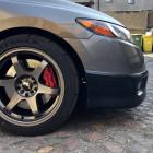 FZ-BLF-HC062S-PU Civic 8gen 06-08 FG2 dokładka przedniego zderzaka HFP Style