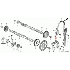 OEM Honda ślizg łańcucha rozrządu N22 i-CDTi Honda Accord, Civic, CR-V, FR-V, 14420-RBD-E01, 14420RBDE01