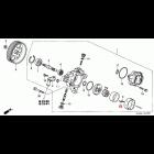 91343-PNC-003, 91343PNC003 OEM uszczelka pompy wspomagania Honda Accord 7gen 03-08