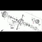 91349-PNC-J01, 91349-PNC-J01 OEM oring pompy wspomagania Honda Accord 7gen 03-08