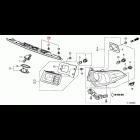 OEM chromowana listwa tylnej klapy Honda Accord 8gen 08-15 74890-TL0-A01, 74890TL0A01