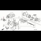 13460-PCX-003, 13460PCX003 OEM ślizg łańcucha pompy oleju Honda S2000 F20C, F22C