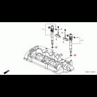 OEM Honda podkładka wtryskiwacza N22 i-CDTi, i-DTEC Honda Accord, CR-V, Civic, FR-V 16472-RBD-E00, 16472RBDE00