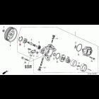 90693-P2A-003, 90693-P2A-003 OEM klips zabezpieczający łożyska pompy wspomagania Honda Accord 7gen 03-08
