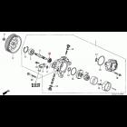 91249-PNC-003, 91249PNC003 OEM uszczelniacz pompy wspomagania Honda Accord 7gen 03-08