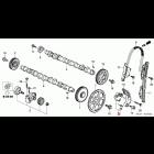 OEM Honda napinacz łańcucha rozrządu N22 i-CDTi Honda Accord, Civic, CR-V, FR-V, 14410-RBD-E01, 14410RBDE01