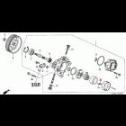 91344-PNC-003, 91344PNC003 OEM uszczelka pompy wspomagania Honda Accord 7gen 03-08