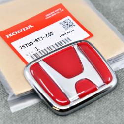 "OEM czerwony emblemat ""H"" 70x60mm Integra DC2 JDM"