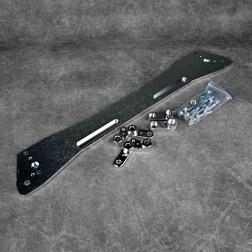ASR Style Subframe Brace rozpórka Civic 5gen 92-95 srebrna