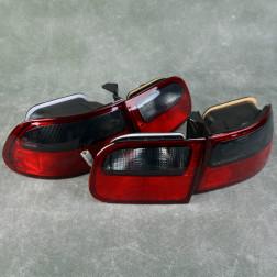 Lampy tylne Red Smoke Civic 5gen 92-95 HB