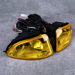 Halogeny żółte Civic 7gen EM2 Coupe 04-05 polift