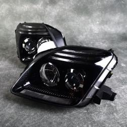 Depo lampy przednie Prelude 5gen 97-01 Soczewka Black Clear